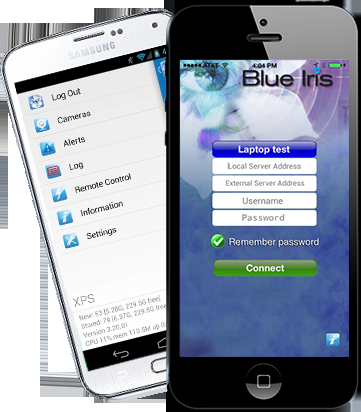 Blue Iris Professionele Surveillance Software Blue Iris